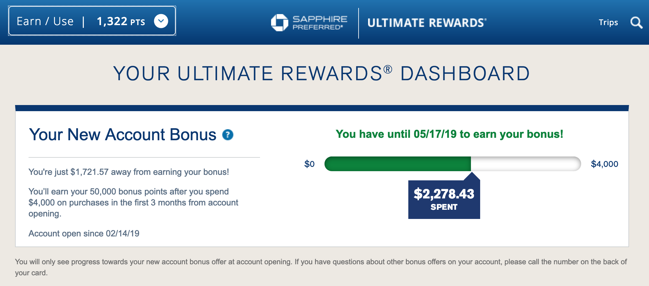 Chase Adds Sign-Up Bonus Tracker for New Credit Card Accounts