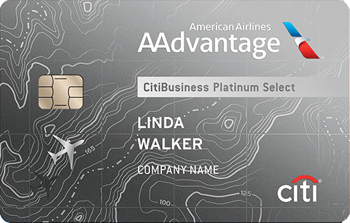 CitiBusiness® / AAdvantage®Platinum Select® World Mastercard®
