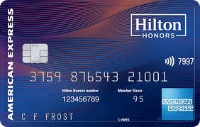 Hilton Honors Aspire American Express Card