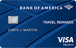 Bank of America Travel Rewards Credit Card Review: Decent Rewards with No Annual Fee