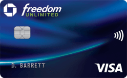 Case Freedom Unlimited credit card