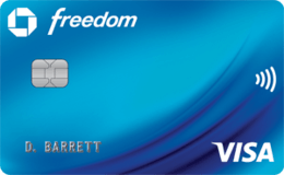 Case Freedom credit card
